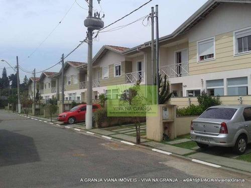Imagem 1 de 30 de Casa À Venda, 98 M² Por R$ 580.000,00 - Granja Viana - Cotia/sp - Ca1987