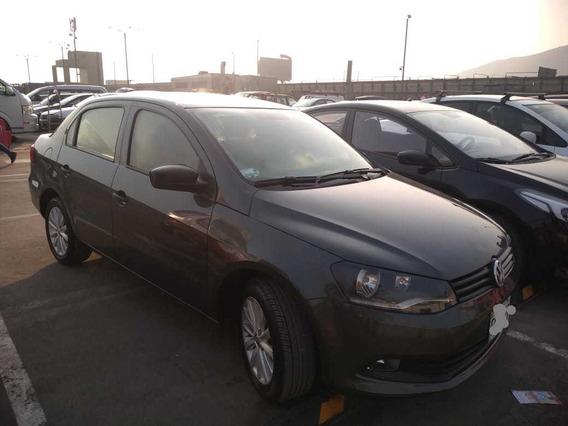Volkswagen Gol Motor 1.6 2014 Gris 4 Puertas