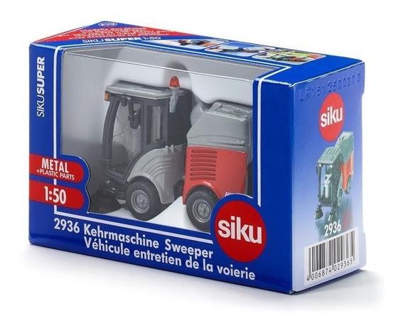 Máquina Mini-barredora De Calles - Siku 2936 - Escala 1:50