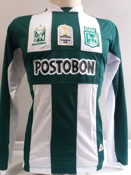 Camisa Atlético Nacional Manga Longa