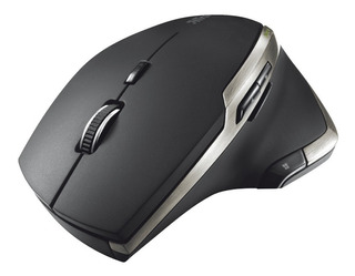 Mouse Evo Trust Laser 2400dpi Toda Superficie Inalambric Cta