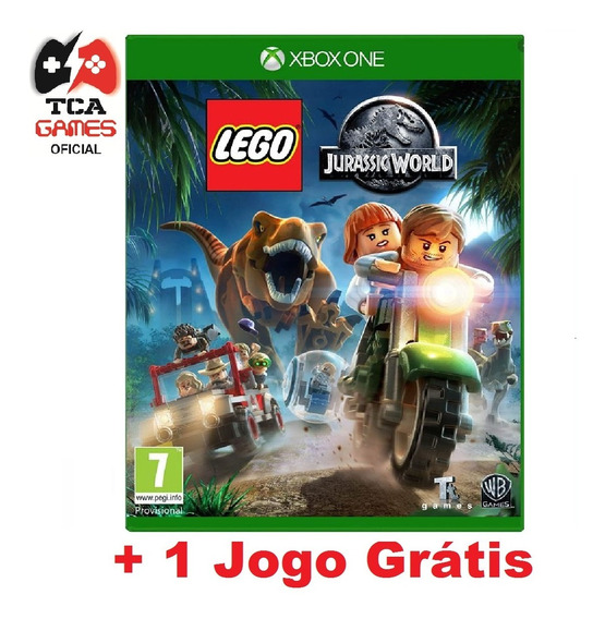 Lego Jurassic World Xbox One Mídia Digital