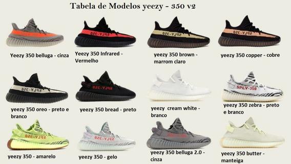 Yeezy 350 V2 - Todos Modelos Disponíveis