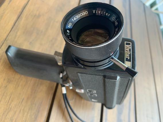 Camera Retro Filme Colecionador Super 8 Vivitar 94p Anos 70