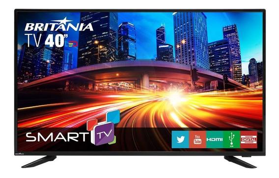 Smart Tv Led 40 Britânia Bivolt