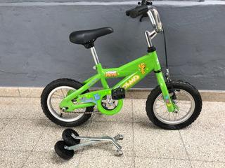 Bicicleta Olmos Cosmo Pets Rodado 12 Verde