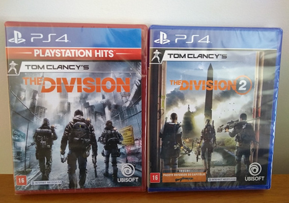 Kit Tom Clancys The Division 1+tom Clancys The Division 2 Br