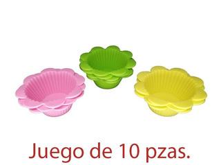 Molde Silicon Panquesitos, Magdalenas, Cupcakes