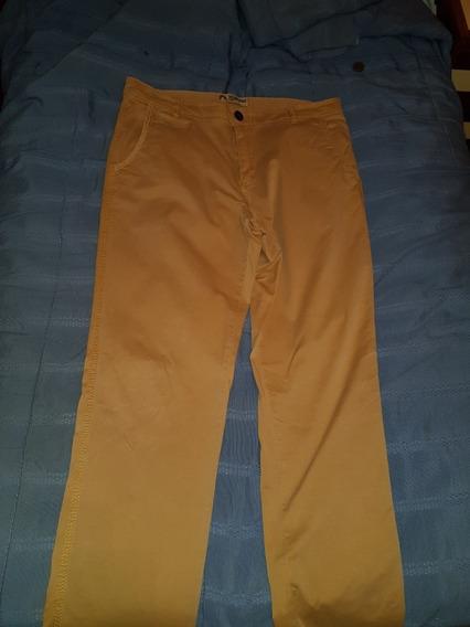 Pantalon Second Image Mostaza Large