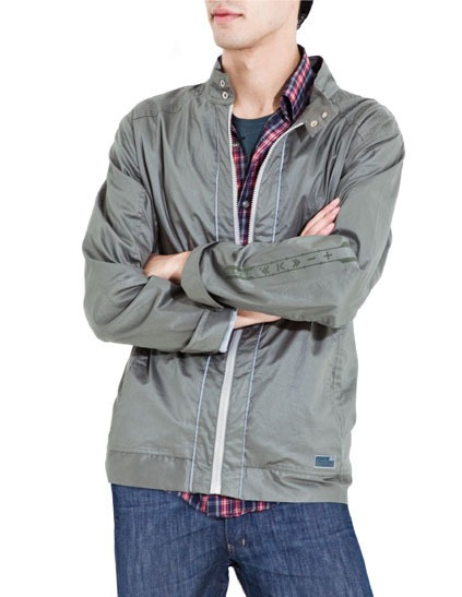 Campera Hombre Impermeable Algodon