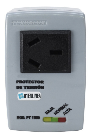 Protector Tensión Heladera Tv Audio Pc Notebook Hogar 1500w