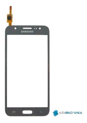 Mica Tactil Samsung Galaxy J5 J500 2015 Negro 100% Original