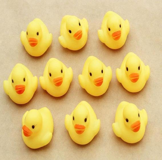 Patinho Bonito Pato Flutuante Banho Brinquedos Amarelo