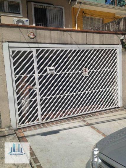 Sobrado Residencial Com 2 Dormitórios À Venda Na Avenida Divino Salvador- Moema, São Paulo/sp - So0047