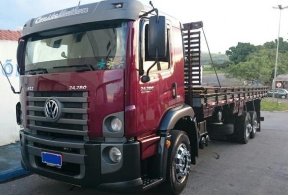 Volkswagen Vw Constellation 24280 6x2 Ano 13/14