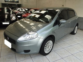 Fiat Punto Attractive 1.4 Cinza 8v Flex 4p Manual 2012