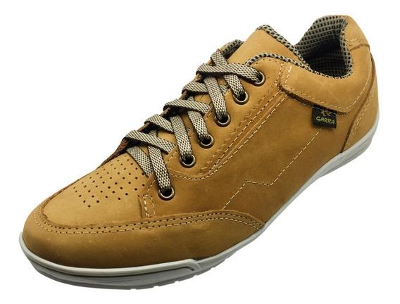 Tênis Masculino Em Material Leve Sapato Couro Legítimo
