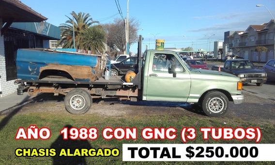 Ford F-150 Año 1988 Con Gnc