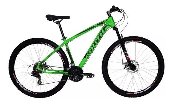 Criado Bicicleta 29 South Legend 21v Shimano - Verde