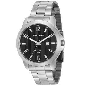 Relógio Masculino Seculus Prateado 28927g0svna1