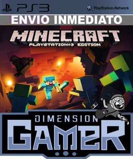 Minecraft + Online (200mb) Ps3 Store Digital