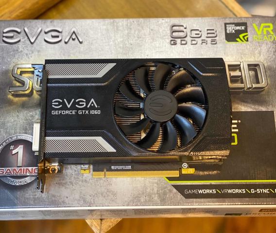 Nvidia Evga Gtx 1060 6gb