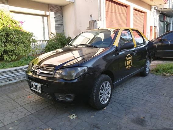 Taxi Fiat Siena 2012 Con Licencia - Vtv - Gnc