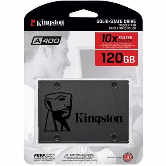 10 X Ssd Kingston 120 Gb Sata 6gb/s 2.5 Pol. A400 500mb/s