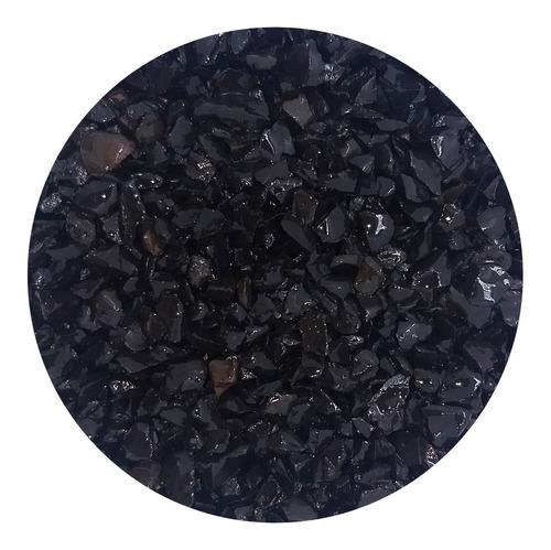 Pedras Ornamentais Pedrisco Preto 4,0kg