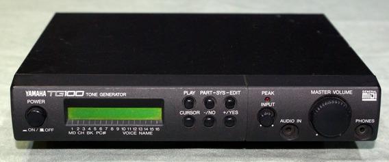 Modulo Teclado Sintetizador Yamaha Tg100 Midi Interface