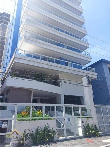 Imagem 1 de 30 de Apartamento Com 1 Dormitório À Venda, 64 M² Por R$ 345.000,00 - Canto Do Forte - Praia Grande/sp - Ap2562