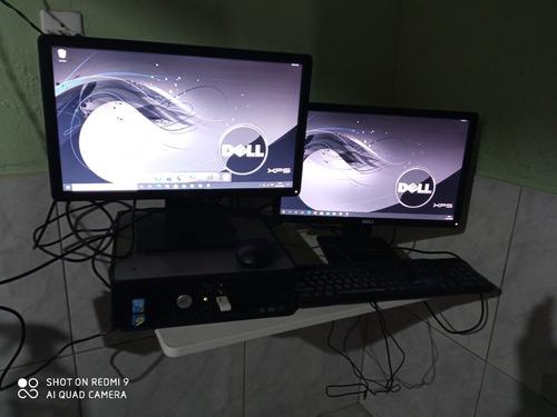 Estação De Trabalho Dell Optiplex-780, 4gigas 120-ssd- 2 Mon