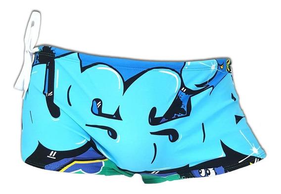 Trajes De Baño Hombre Ausiebum Modelo Graffiti