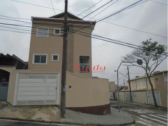 Sobrado Com 2 Dormitórios À Venda, 95 M² Por R$ 499.000 - Parque Oratório - Santo André/sp - So1166