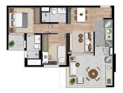 Imagem 1 de 1 de Apartamento Com 2 Dormitórios À Venda Por R$ 578.869 - Bosque Maia - Guarulhos/sp - Ap0397