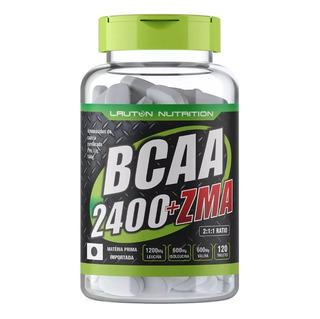 Bcaa 2400 Zma 120 Tabletes Lauton Envio Imediato 6x S/ Juros