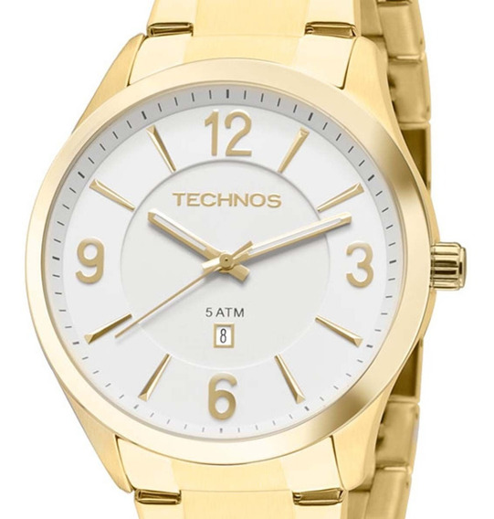 Relógio Technos Feminino Classic Steel 2015byytd/4b Dourado