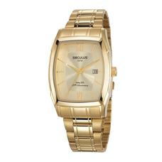 29d80b5a1d3 Relógio Seculus Long Life Dourado Visor Strass 24720lpsbda3 ...