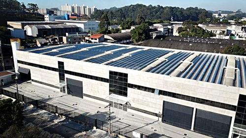 Galpão Novo Com Projeto Moderno E Eficiente C/ Iluminação E Ventilação Natural Com Ruas Largas - Pp16168