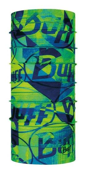 Buff Original Breaker Multi Verde Con Azul