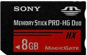 Cartão De Memória Sony Original 8gb