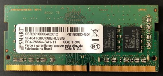 Memória Ram Dell 8gb 1rx8 Ddr4 Sodimm 2666mhz