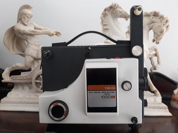 Projetor Antigo 8mm Takita 1000s C/ Lâmpada S/ Correia Japan