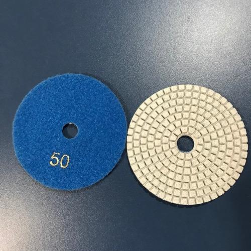 Lixa Flex Diamantada A Umido 100mm Marmoraria Kit 10un