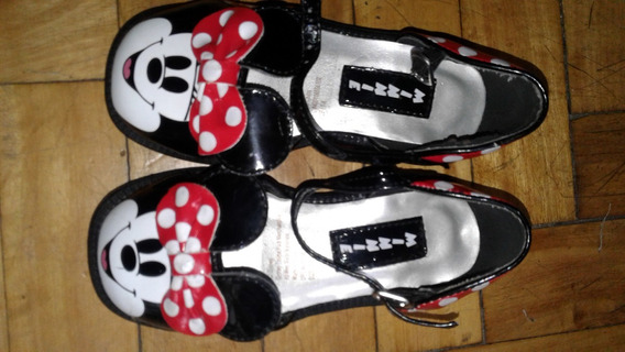 Zapatos De Minnie De Disney Store Originales Nro 23