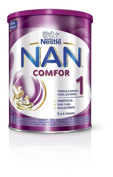 Kit 4 Leite Nan Comfor 1 800g - Nestlé - Nutrição Infantil -