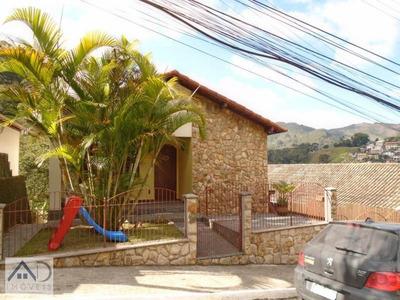 Casa Em Condomínio Para Venda Em Nova Friburgo, Cônego, 4 Dormitórios, 2 Suítes, 5 Banheiros, 2 Vagas - 004