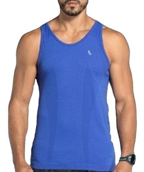 Camiseta Regata Masculina Sem Costura Running Lupo