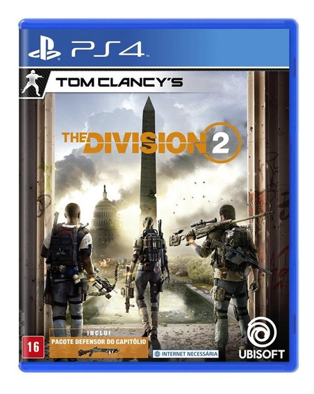 Tom Clancys The Division 2 Ps4 Mídia Física Novo Lacrado