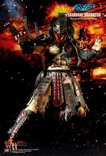 Alien Vs Predator Ac01 Hot Toys Samurai Predator Collection